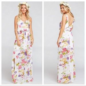 SMYM Kendall Chiffon Maxi in Beat Friend Floral
